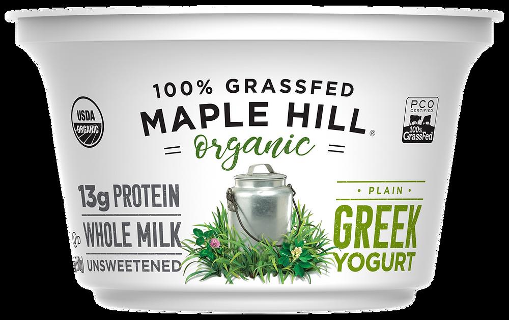 Maple Hill 100% Grass-fed Organic Yogurt