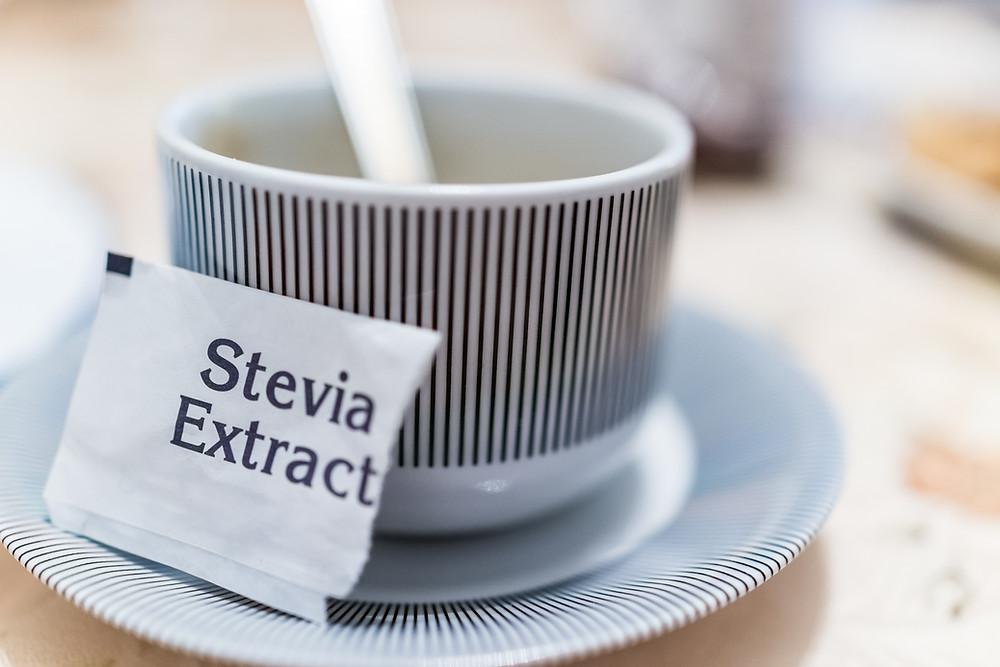 Empty Stevia packet