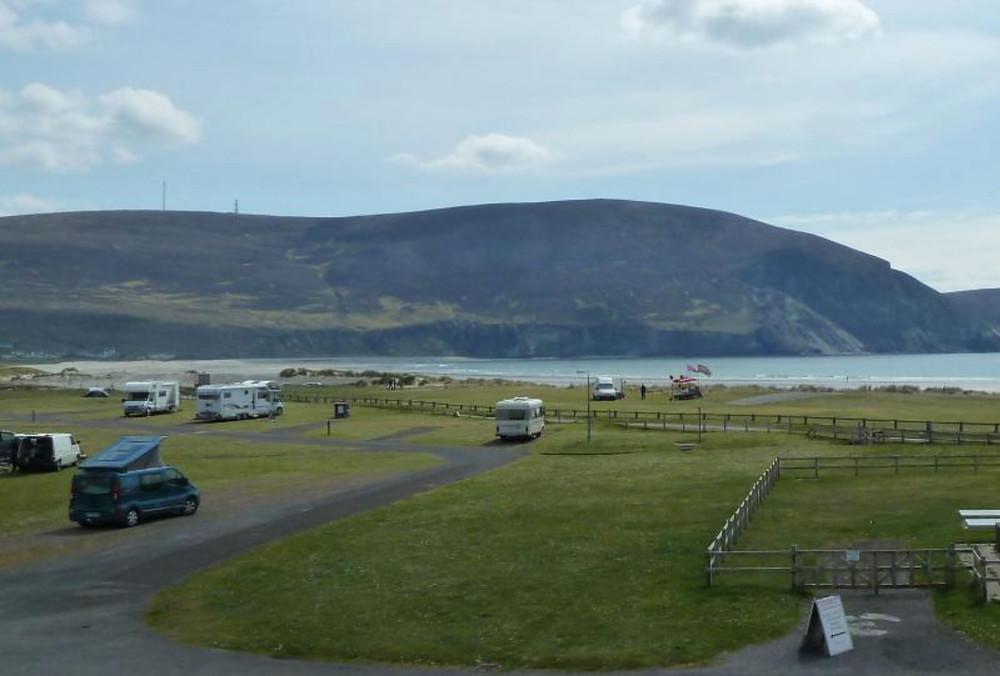 Keel Sandybanks Caravan & Camping