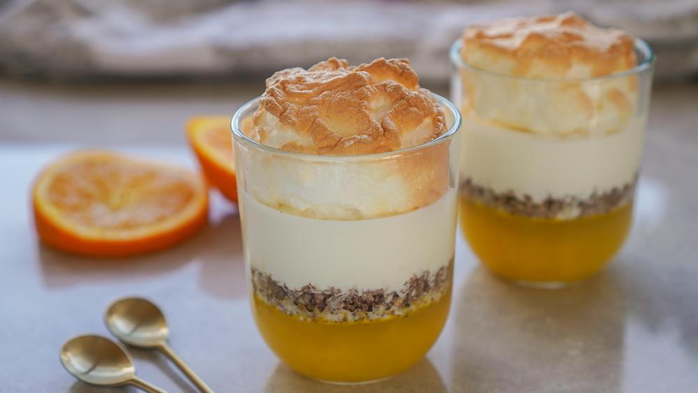 Orange meringue