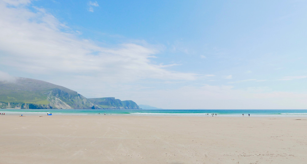 Keel beach Achill County mayo