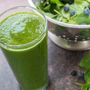 Spinach and Blueberry Smoothie