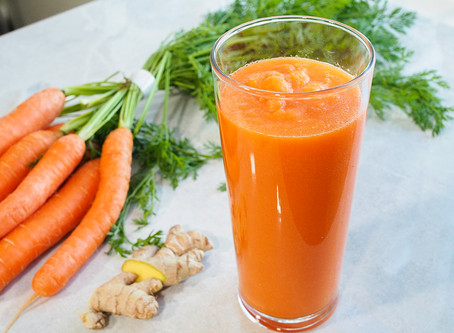 Carrot and Ginger Smoothie