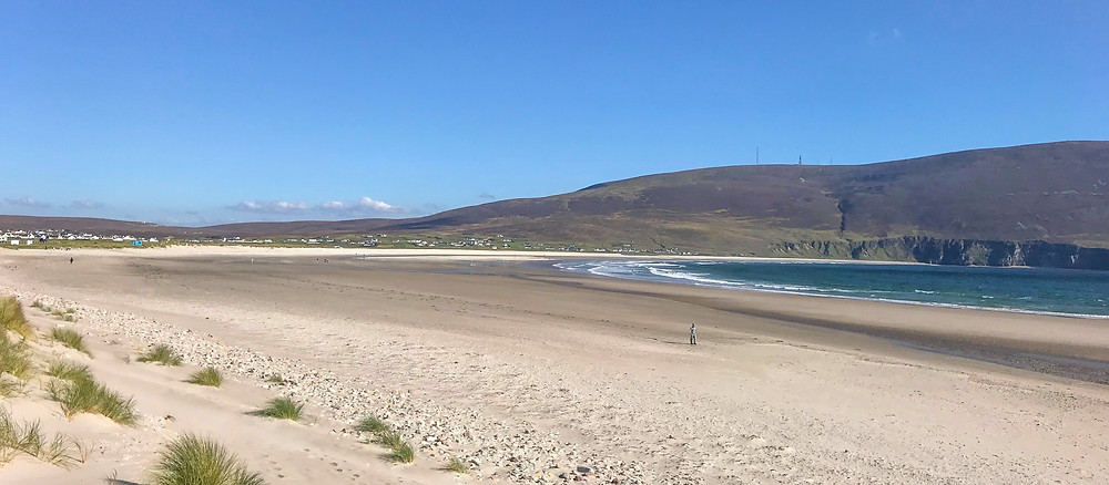 Great Escape Camper Hire Keel Beach in Achill, County Mayo