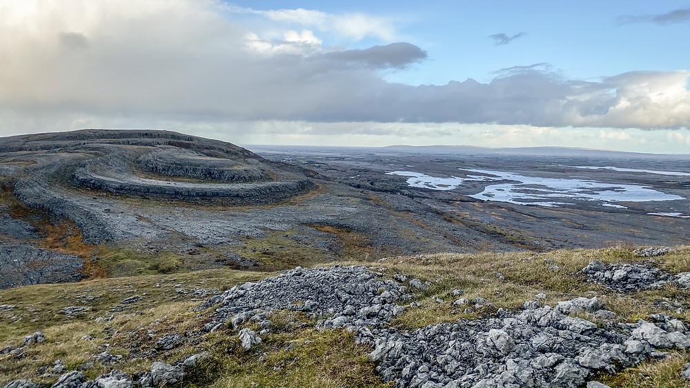The unique landscape of the Burren, County Clare