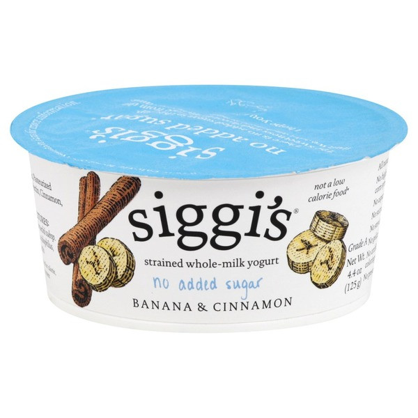 4% No Added Sugar Yogurt (Siggi's)