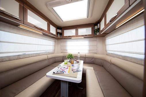 Great Escape Camper Rear Lounge