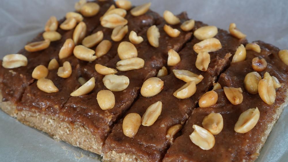 sugarfree snickers bars before the sugarfree chocolate is added