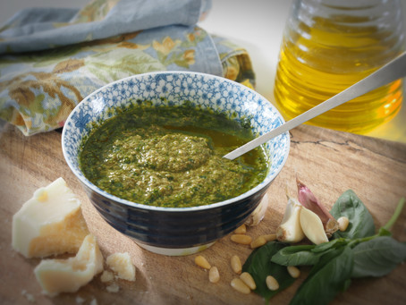 The Best Basil Pesto
