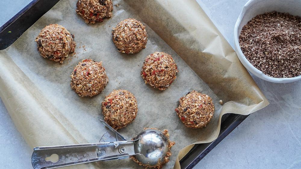 Sugarfree Trail Mix Muffins