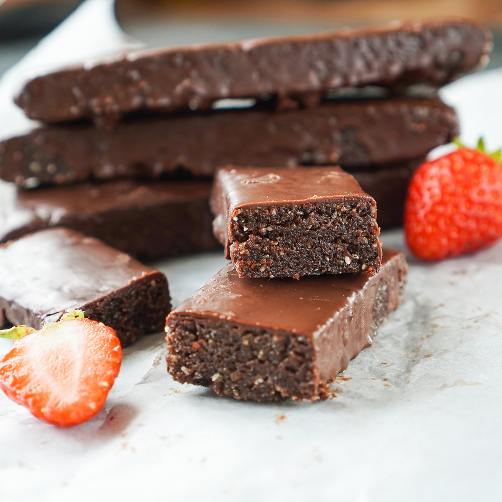 Chocolate Fudge Brownie Fingers