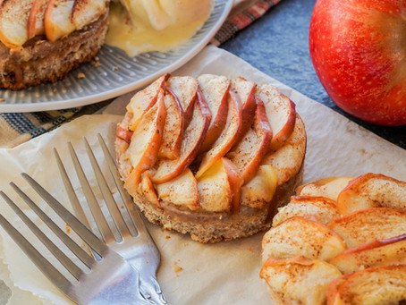 Apple & Pear Oat Base Tart
