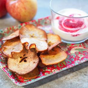 Apple and Pear Crisps
