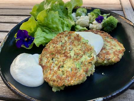 Burger de brocoli et mayo vegan