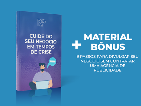 E-BOOK GRATUITO: Cuide do seu negócio em tempos de crise