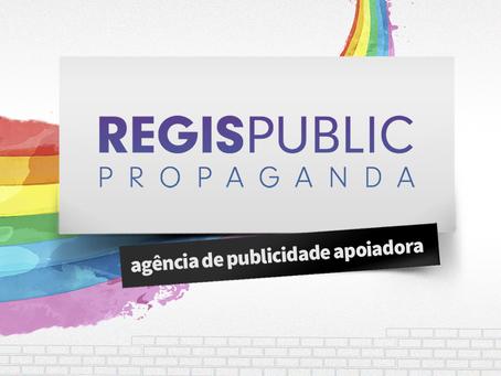 Regis Public Propaganda cria para a 13ª Edição da Parada LGBTQI+ Florianópolis
