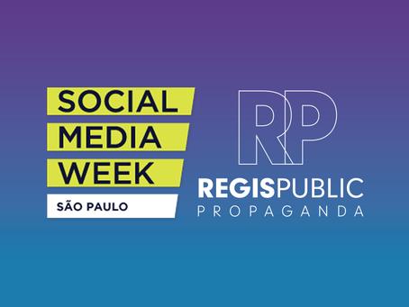 Equipe Regis Public participa do Social Media Week 2019, em São Paulo