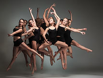 Many Dancers in Black