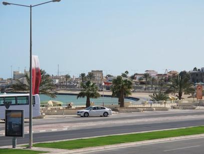 Al-Khor-Corniche road