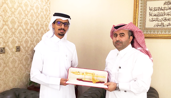 Organization committee for national Day Honor Alsarh Holding Group represented by CEO Mr. Mohammed H