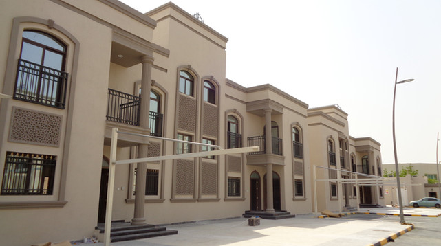 GRC Work For Proposed 16 Villas at Mahmoura