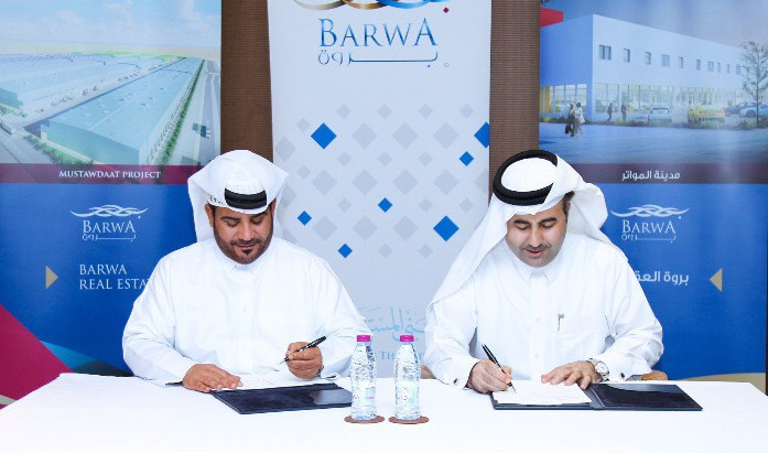 Barwa Real estate Qatar signs Construction Contract for Phase 2 Barwa Madinat Al-Mawater