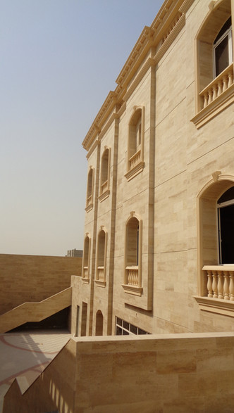 GRC work For Private Villa (B+G+PH) at Abou Hamour
