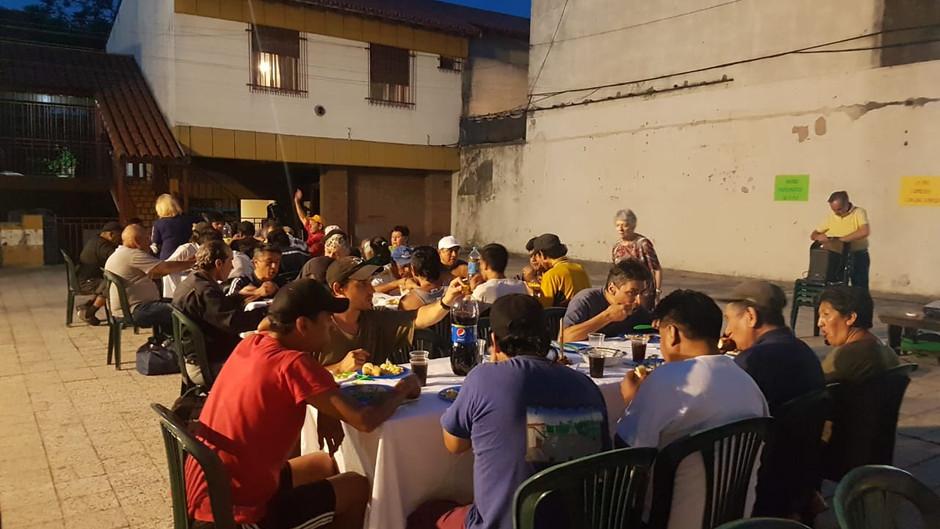 Cena Comunitaria de fin de año.