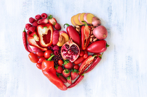 Red plant-based foods