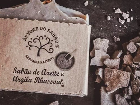 Sabão de Azeite e Argila Rhassoul