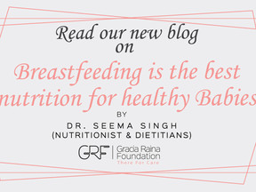 Breastfeeding is the best nutrition for healthy Babies