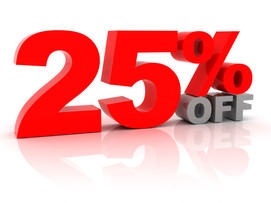 Long term plans are 25% off till Saturday