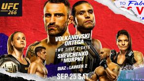 New bet alert (#UFC266)