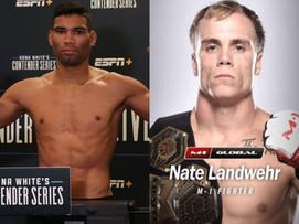 Free bet #1 Herbert Burns vs Nate Landwehr (UFC Raleigh, Jan. 25th)