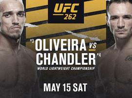 New bet alert (#UFC262)