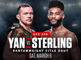New bet alert (#UFC259) (5u risk)