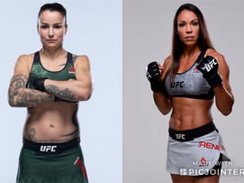 Marion Reneau vs Raquel Pennington (UFC Vegas 3,June 20th)