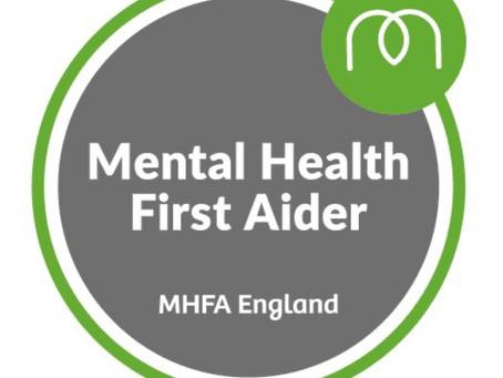 MHFA Online Training 8th/9th/15th/16th April 2021