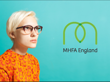 Online MHFA Training 31st March 1st/6th/7th April