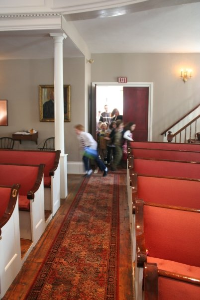 Easter Egg Hunt in the Meeting House