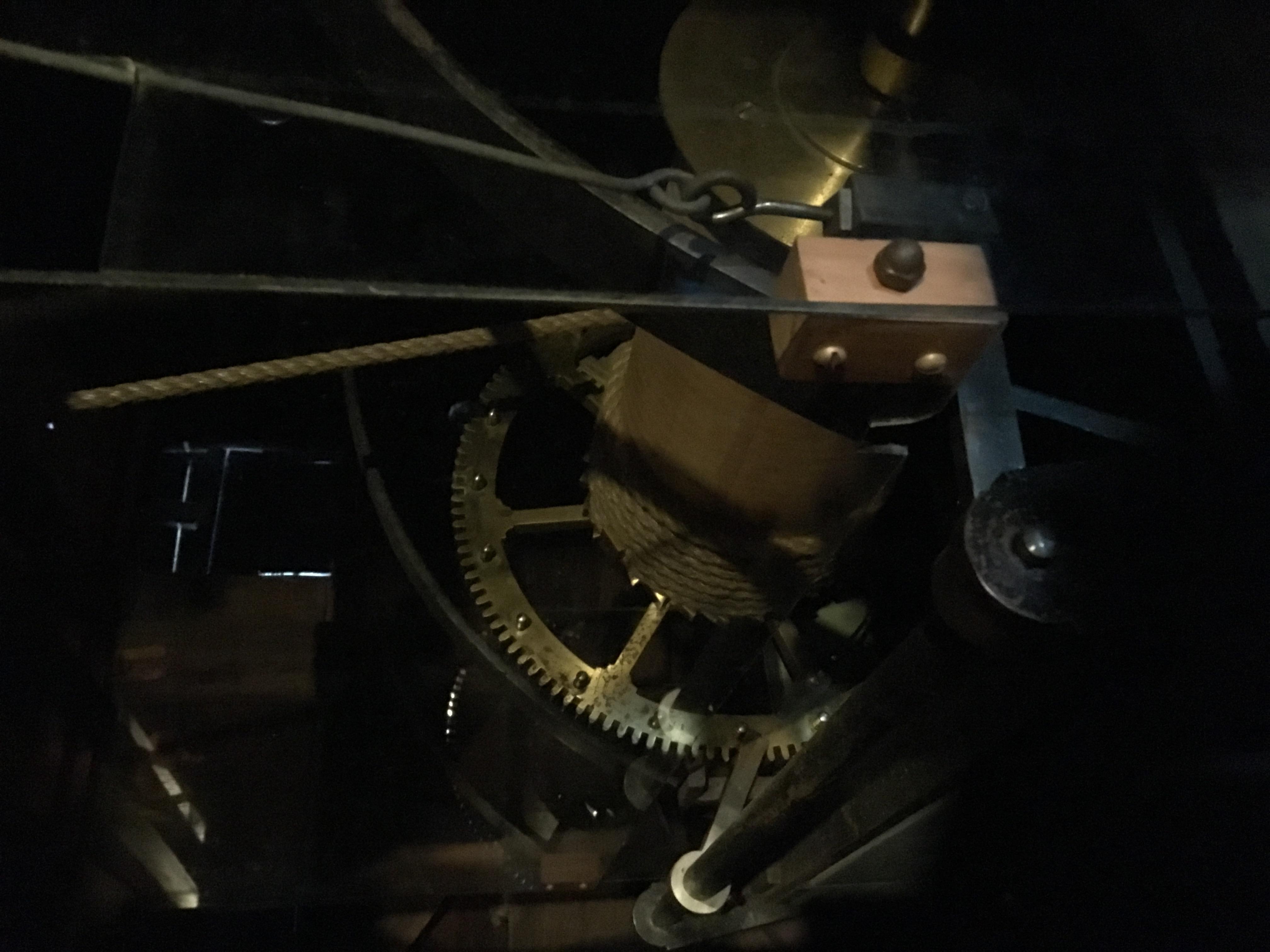 Simon Willard clock gears