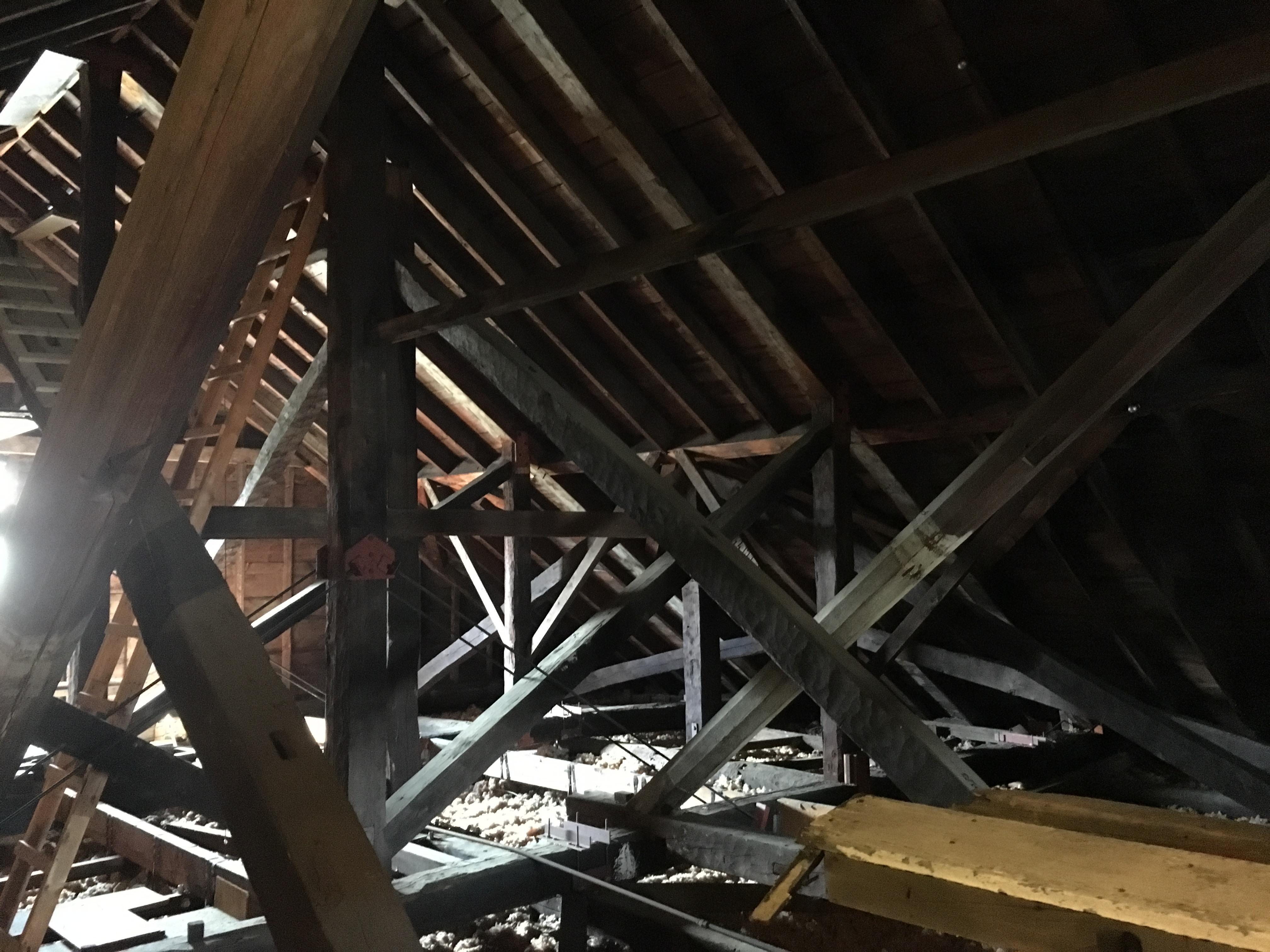 Church attic