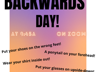 Backward's Day! !yaD s'drawkcaB