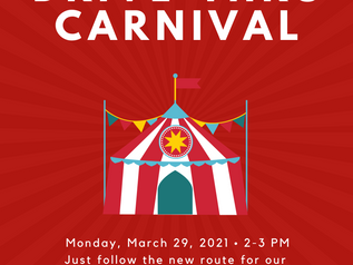 A FREE 'Welcome Back' DRIVE-THRU CARNIVAL!