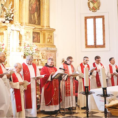 Eucaristía de acción de gracias por la Beatificación de las 14 Concepcionistas Franciscanas mártires