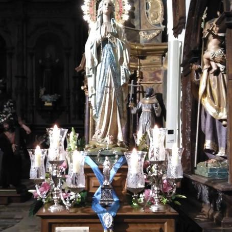 Fiesta de nuestra Señora de Lourdes en Viveiro