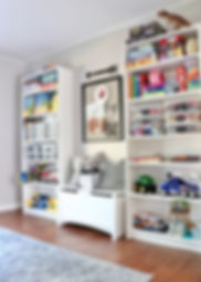 Children's Spaces kids playroom organiza
