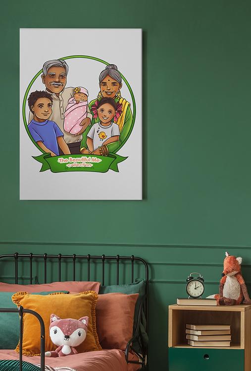 Palmer Family Canvas