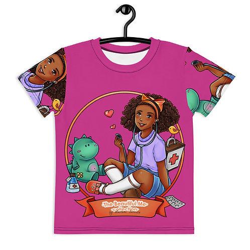 Marisha T-Shirt  - Pink