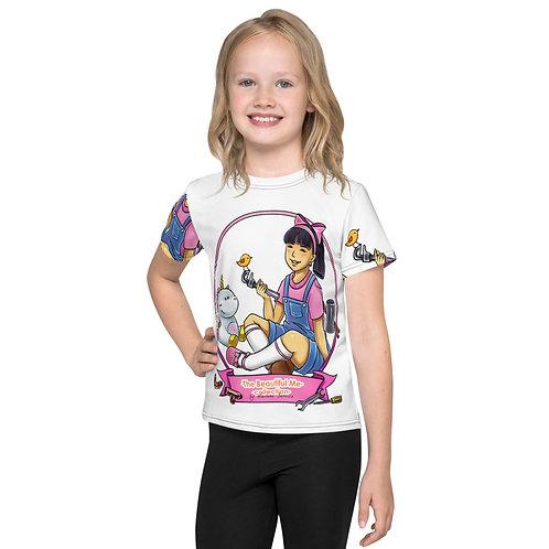 Lisa All Over T-Shirt - White